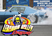 Lebanon Valley Dragway near Brook n Wood Campground