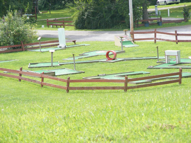 Mini-Golf at Brook n Wood Campground