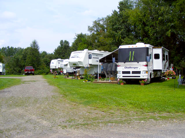 Rv'ing at Brook n Wood Campground