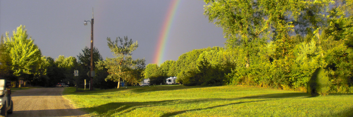 Beautiful Rainbow at Brook n Wood